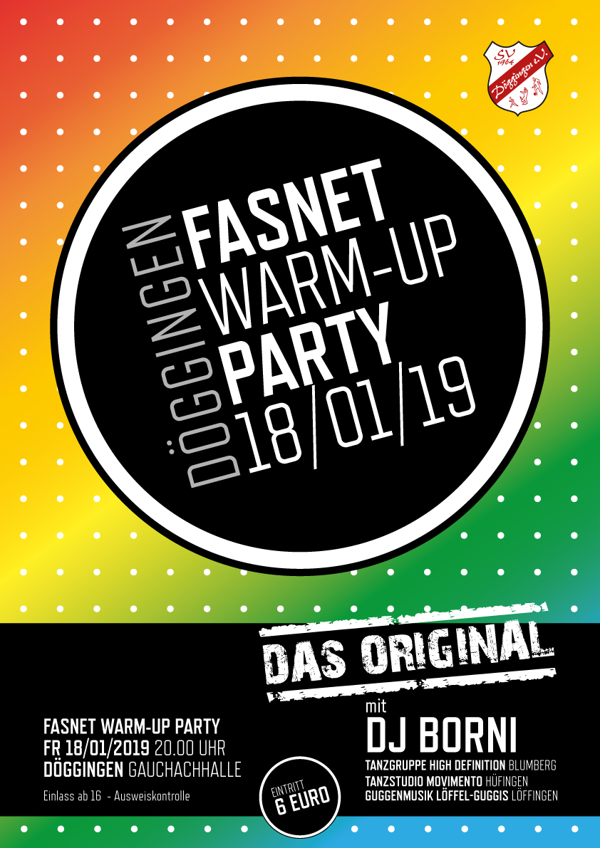 SVD Fasnet WarmUp Party 2019